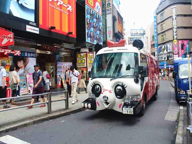日本幼儿园还是真是萌萌哒,专业去上学这是上室内设计校车的就业情况图片
