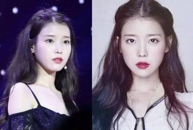 特点:脸型饱满 这个发型很适合脸型饱满的妹子 把刘海夹起来分到两边图片