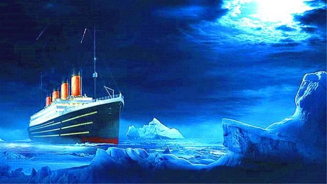 泰坦尼克号早就看到冰山了,为什么不立刻停船?