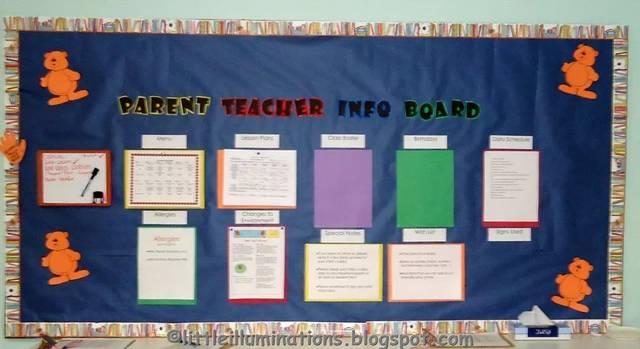 比如老师的简历…… 这些就是幼儿园最常见的家长信息栏了.
