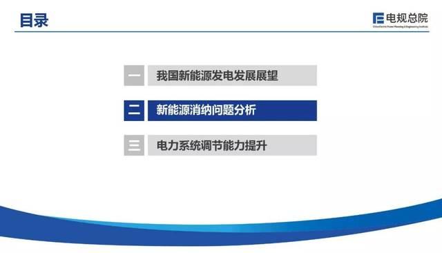 【焦点】电力规划设计总院 韩小琪:我国新能源消纳与电力系统调节能力