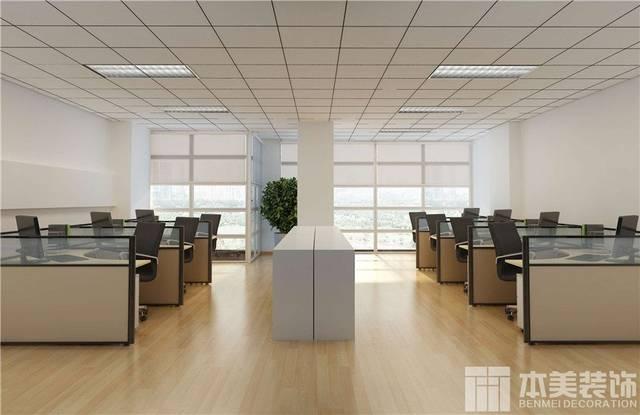 郑州办公室装修设计效果图 办公室装修设计公司作品