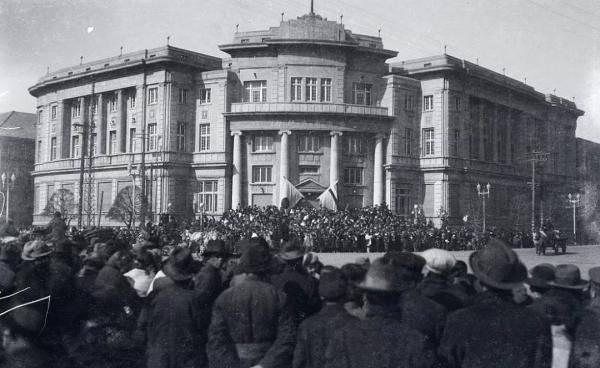 满洲中央银行大楼后期改为大和警察署 摄影/杰拉德·华纳