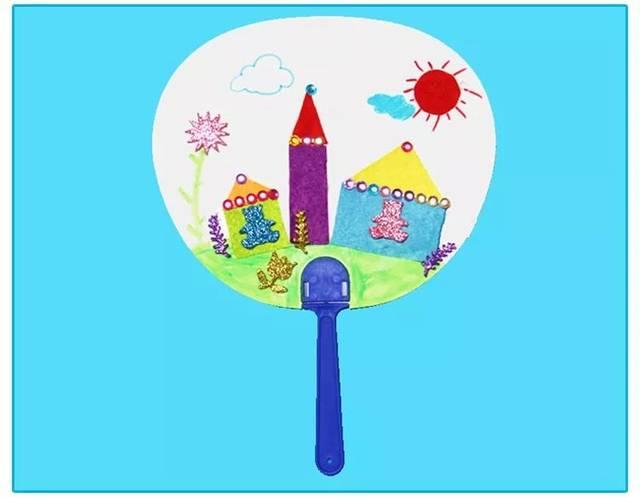 diy扇子想必不少幼儿园也尝试过 今天我们一起看看常用的几种扇子 有图片