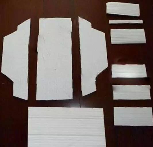 纸板diy小汽车模型