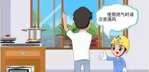 厨房一定要一年四季时时保持通风,严禁紧闭厨房门窗.图片