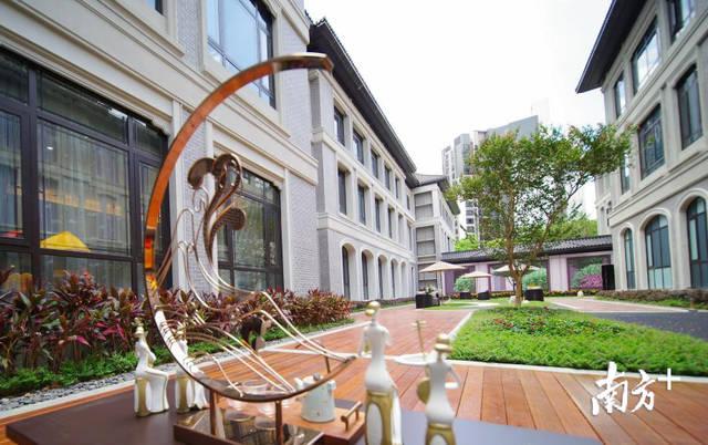 美学艺术!美的绿城凤起兰庭v美学别墅馆对外开放高山流水这是图片