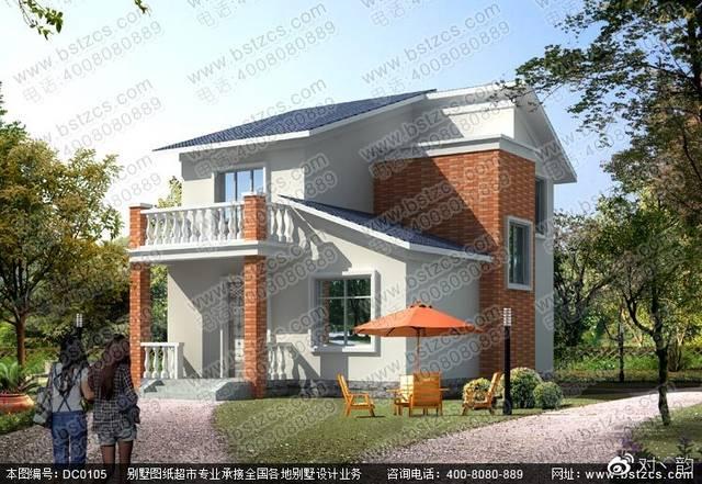 二层农村自建房设计效果图图片