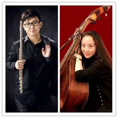 长笛:张毕乐 大提琴:王爽