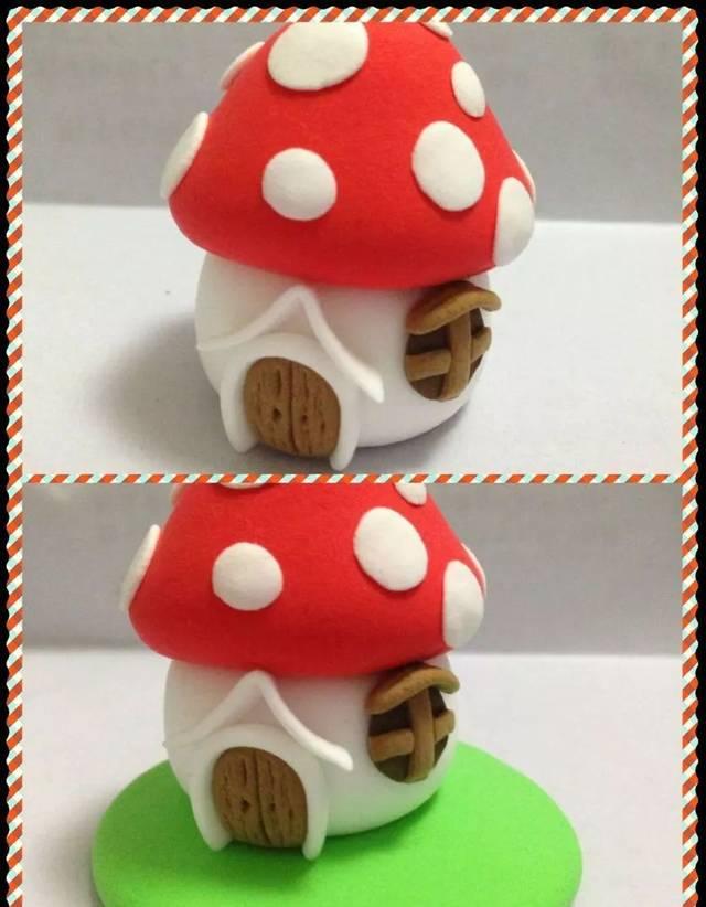 这些蘑菇居然都是手工制作的?美爆了.