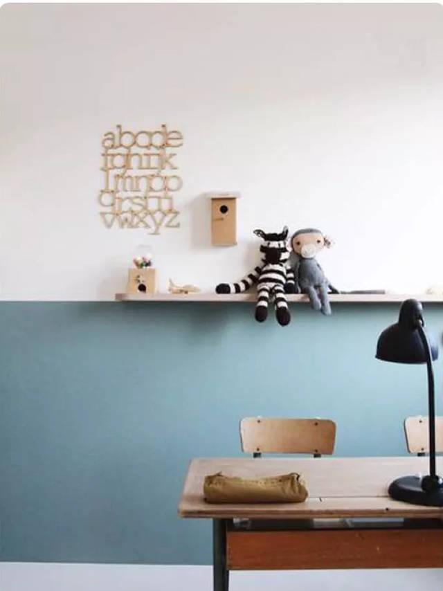 刷半墙的趋势一出,连玄关的设计思路都变得多了一种.