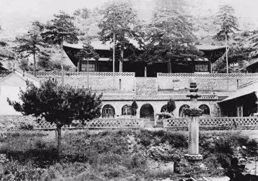 五台山的这座寺庙,是梁思成和林徽因的诗和远方!