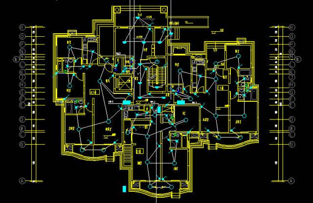 电气图纸如何免费获取 各种别墅构造设计,家装设计,cad练习图纸,电气