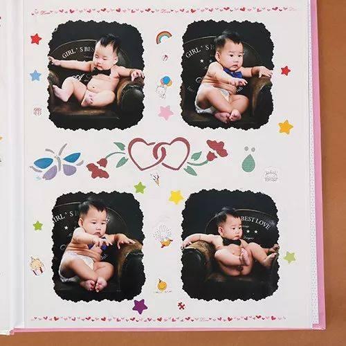 【团购】日本ncl相册diy手工 儿童宝宝成长纪念册