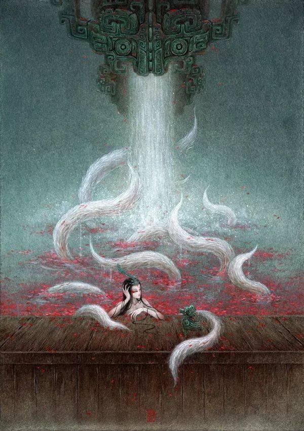 青年画家:《山海经》里的200个神兽可能长这样(图)