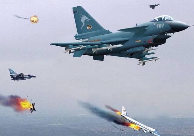 该国点名购买中国这款战机,结果黄了,与美国图片