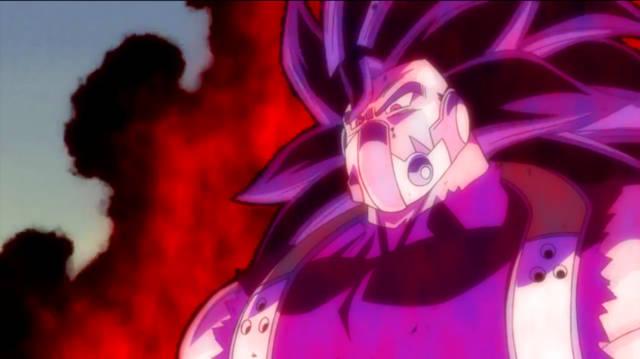 超龙珠英雄,邪恶赛亚人有多强大?超蓝贝吉塔开界王拳还打不过!