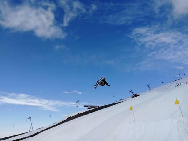 单板滑雪大跳台和坡面技巧障碍国家集训队赴美国安装雪上训练如何用360进行打印机图片