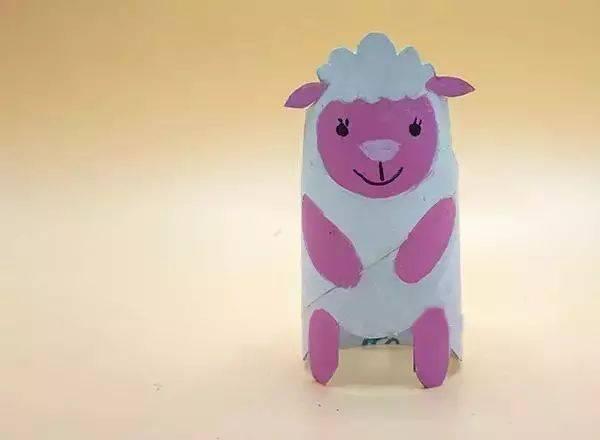 三年级手工制作小羊