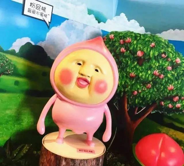 日本有个特别可爱的卡通形象 名叫屁桃君 面部长得像桃子 但不失喜感图片