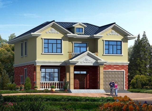 分享一套好看又简单的普通农村楼房二层设计图绘制表头斜线2007图片