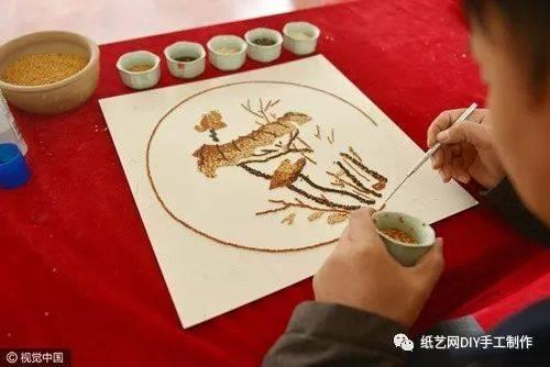 米粒豆子手工制作图片