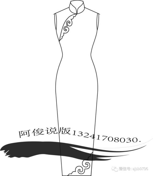 如意旗袍(传统手工旗袍)图片