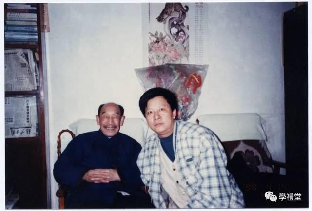 人与人和谐相处囹�a_1997年拜访萧璋先生
