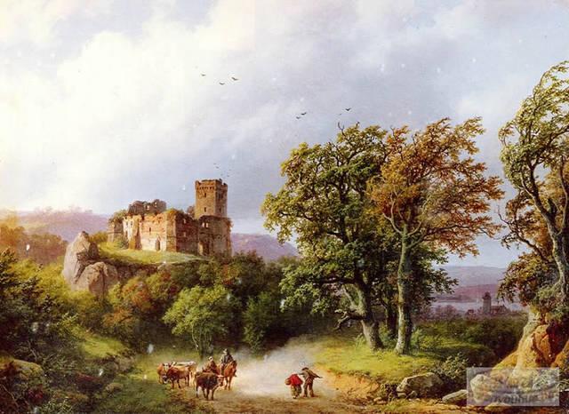 欧洲古典名画·风景篇作品欣赏