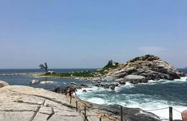 湛江海边风景手绘