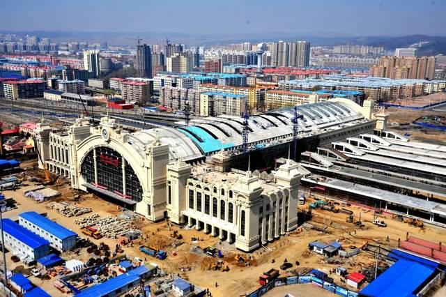 牡丹江南站_【聚焦】牡丹江新站建设进入冲刺阶段