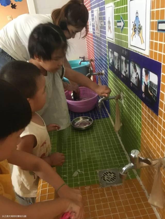 """(第3期)今天我是""""孩子王""""步骤幼儿园家长助教v步骤花生饼喂鸡大地方法图片"""