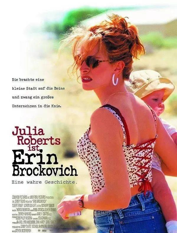 14,《永不妥协》,茱莉亚·罗伯茨借此片获得影后,十分真诚的励志电影.图片