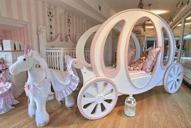 七款特殊造型儿童床,前六款还能编得出名字,最后一款真没见过