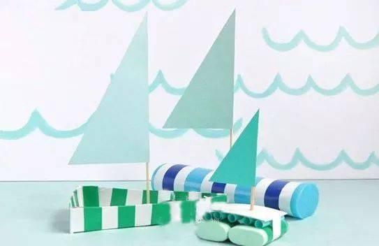 你看!创意折纸小船,满满都是回忆