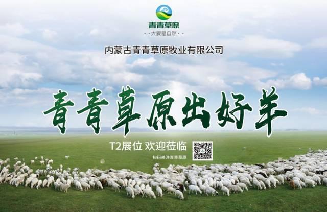 内蒙古百强品牌青青草原参展第五届中国·包头国际牛羊肉产业大会,7月