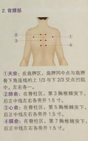 ?^_三個上肢部的肩骬,曲池,手三里,外關