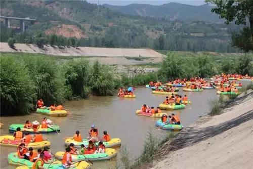 伊河漂流 伊河漂流独有的森林漂流是这里的一大特色,给人带来了心灵图片