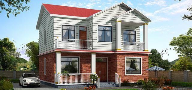 小编就从设计师电脑上精选了11套两层的轻钢别墅效果图供广大客户挑选
