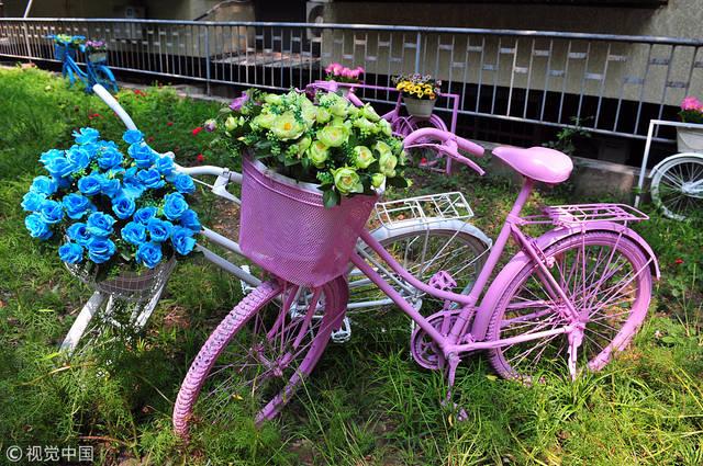 幼儿废品手工制作自行车