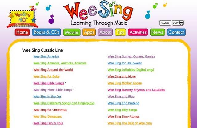 英文儿歌有哪些比较好?