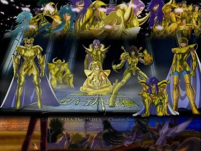 圣斗士:十二黄金实力分层四档,沙加强势领衔第一档次!