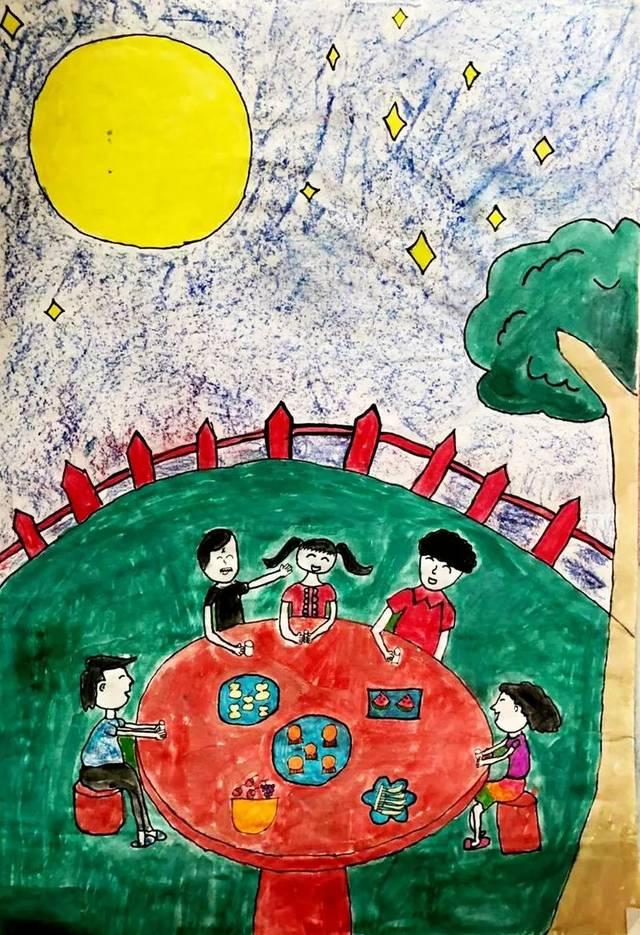 """【童画新时代 手绘价值观】节日里,有社会主义核心价值观的""""根""""!"""