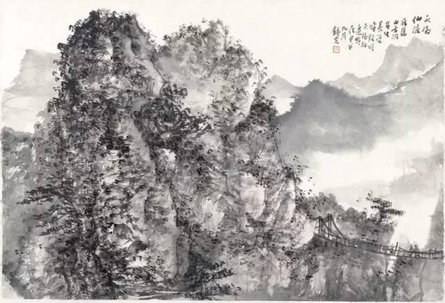 """因此,""""卧以游之""""的心理需求又揭示了山水画创作的生命自由和人本价值图片"""