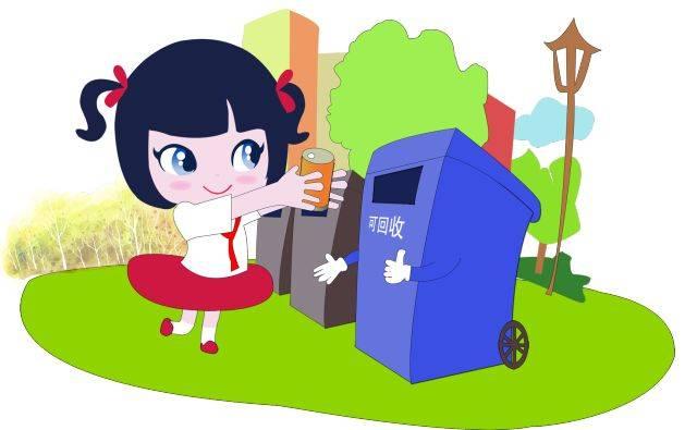 """让垃圾分类成为学生暑期""""必修课"""",江北在行动!图片"""