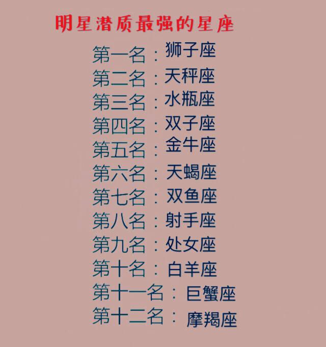 命�9e)y�.yZ^�xn�)_12星座中,谁最有大智慧,谁最有明星命,异性交往中害怕