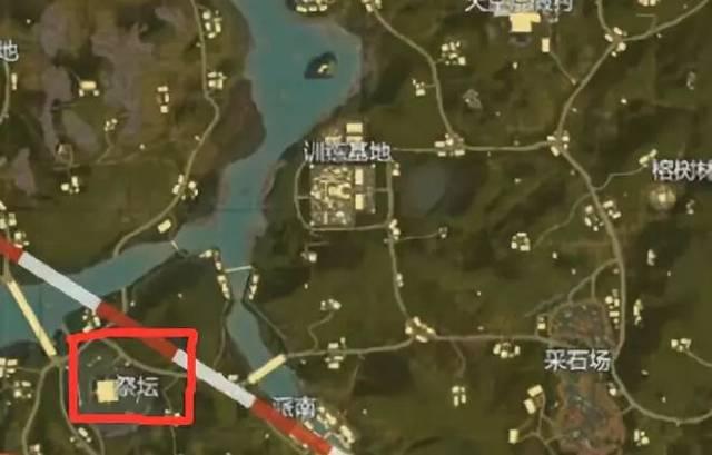 刺激战场新地图热情雨林 哪些资源点是必争之地?图片