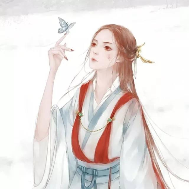 唯美仙侠古风动漫美女插画,惊艳了时光