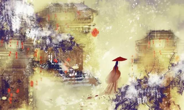 仙气缥缈古风唯美人物场景插图