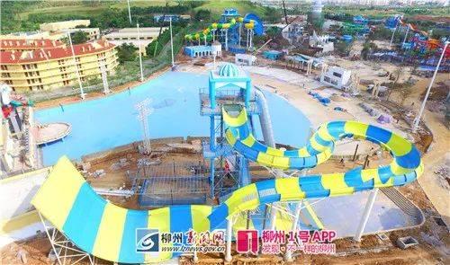 柳州最大水上樂園有望今年暑假期間建成開放,最新內場圖片